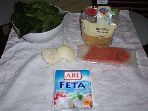 ingredients for bulgur