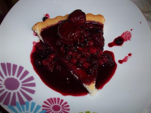 mixed berries shortcake