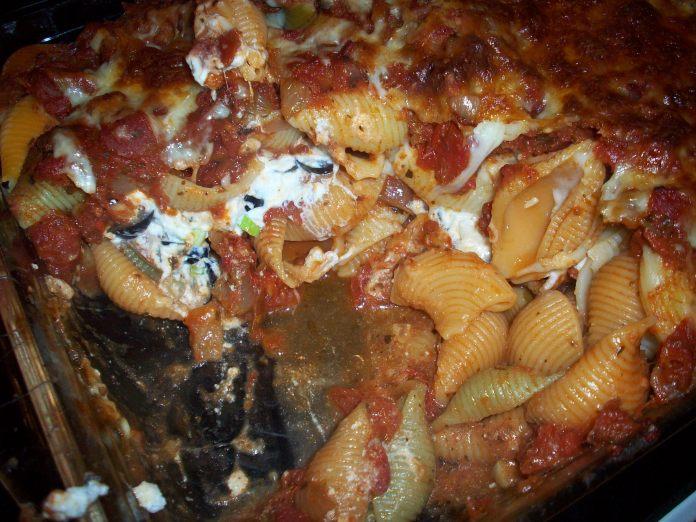 lasagna recipe with shells