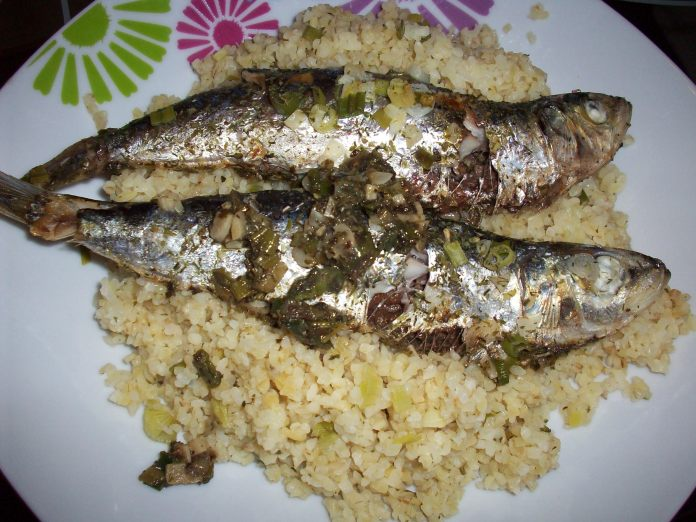 sardines and bulgur recipes
