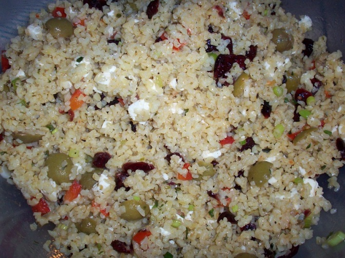 Sweet & Savory Bulgur Salad