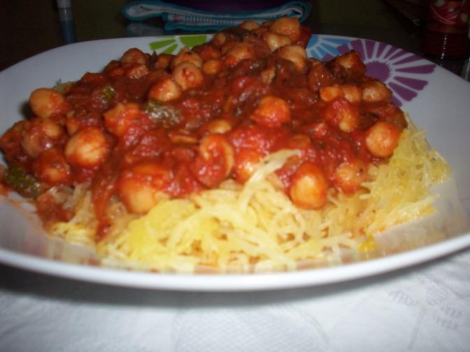 Faux Spaghetti & Sauce
