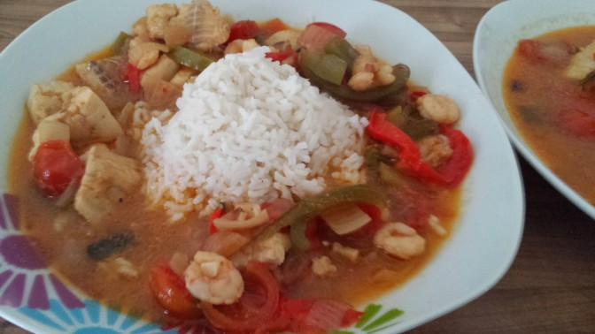 Spicy Coconut Moqueca
