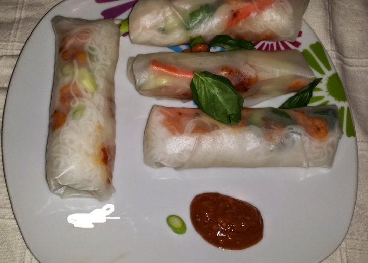 spring roll pb sauce