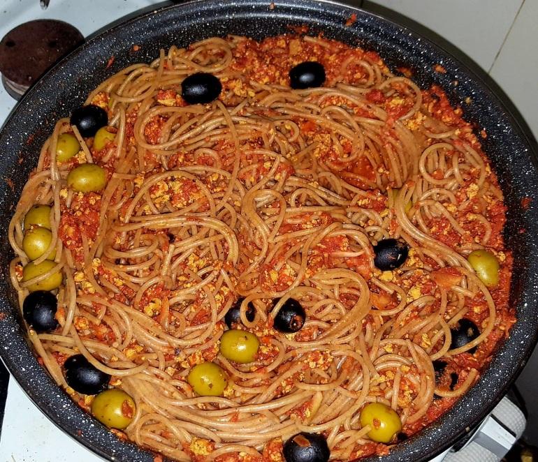 vegan spaghetti recipes