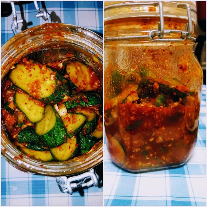 vegan kimchi pickles